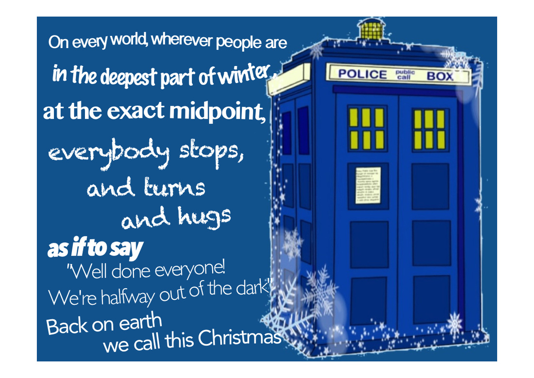 Doctor Who Quotes About Love Christmas  Juleslediard.co.uk